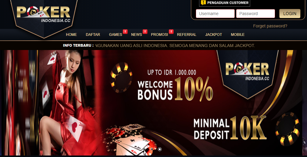 Link Alternatif Pokerindo